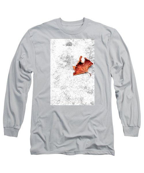Long Sleeve T-Shirt featuring the photograph Lonely by Marwan Khoury