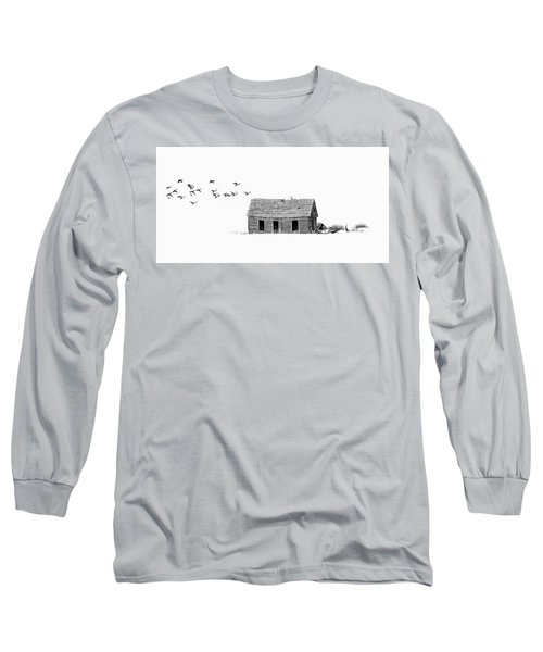 Lonesome But Peaceful Long Sleeve T-Shirt