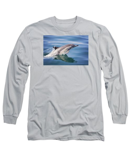 Long Beaked Common Dolphin Long Sleeve T-Shirt