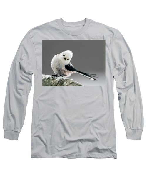 Charming Long-tailed Look Long Sleeve T-Shirt