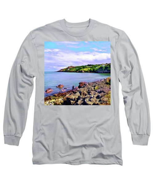 Looking Across Long Sleeve T-Shirt