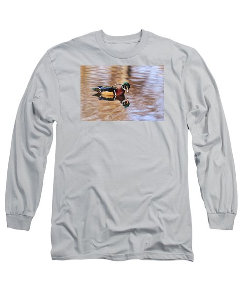 Looking At Me Long Sleeve T-Shirt by Lynn Hopwood