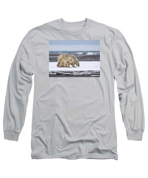 Looking Back In The Arctic Long Sleeve T-Shirt