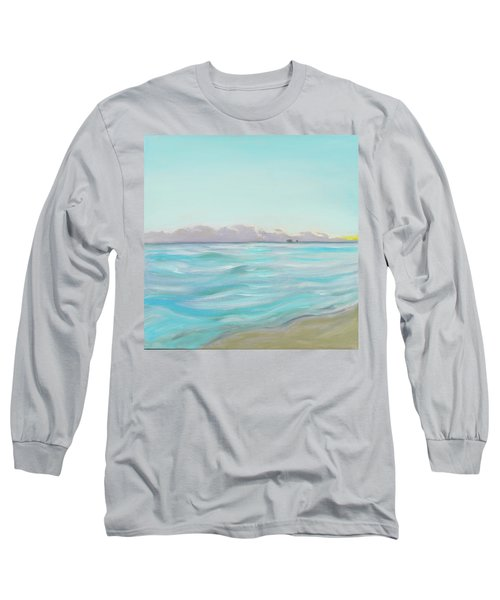 Looking South Tryptic Part 2 Long Sleeve T-Shirt