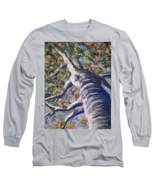 Looking Up - Fall Long Sleeve T-Shirt