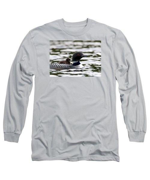 Loon Chick Long Sleeve T-Shirt