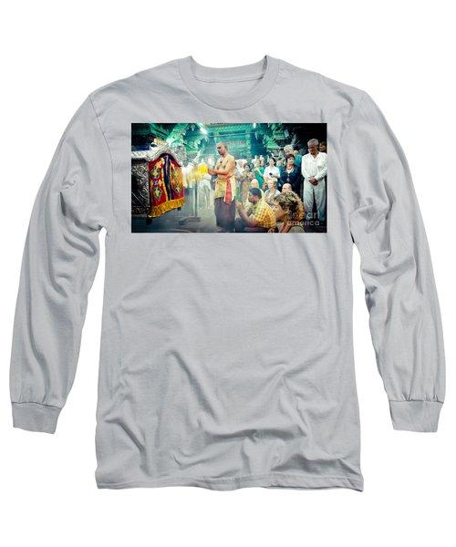 Lord Shiva Meenakshi Temple Madurai India Long Sleeve T-Shirt