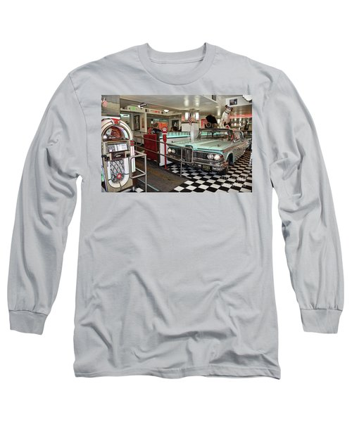Loris Diner In San Francisco Long Sleeve T-Shirt