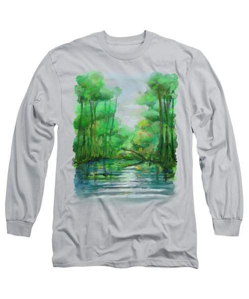 Lost In Colors  Long Sleeve T-Shirt
