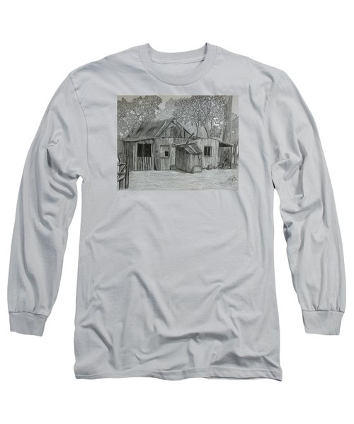 Lost In The Woods  Long Sleeve T-Shirt by Tony Clark