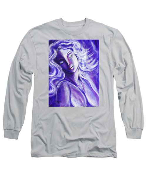 Lost In Thought Long Sleeve T-Shirt by Anya Heller