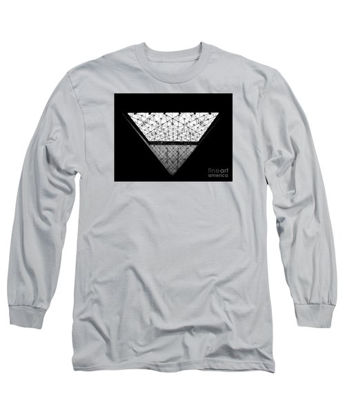Lourve Pyramid Long Sleeve T-Shirt by Amar Sheow