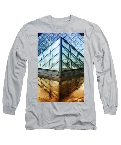 Louvre Pyramids Paris IIi Long Sleeve T-Shirt