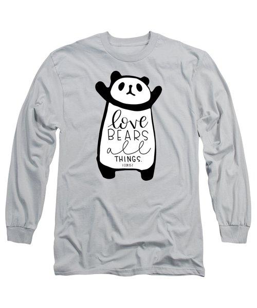 Love Bears All Things Long Sleeve T-Shirt