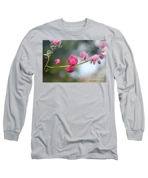 Long Sleeve T-Shirt featuring the photograph Love Chain2 by Megan Dirsa-DuBois