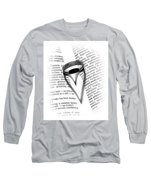 Love Handles Long Sleeve T-Shirt by Jeffrey Jensen