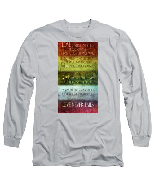 Long Sleeve T-Shirt featuring the digital art Love Is  by Angelina Vick