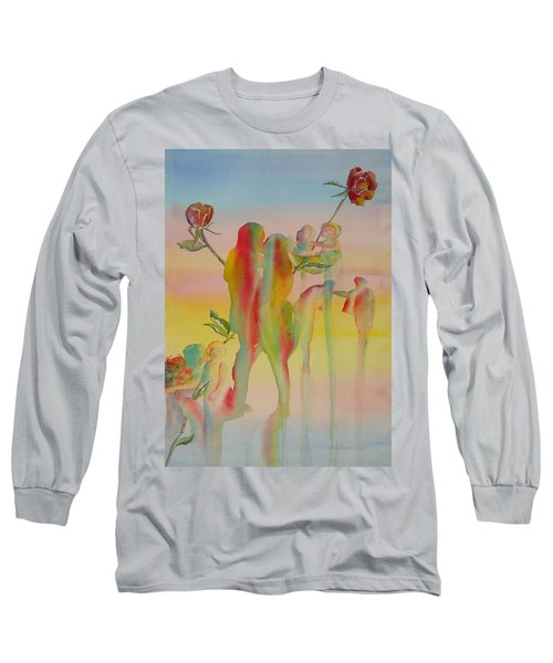 Love Is Eternal Long Sleeve T-Shirt by Debbie Lewis