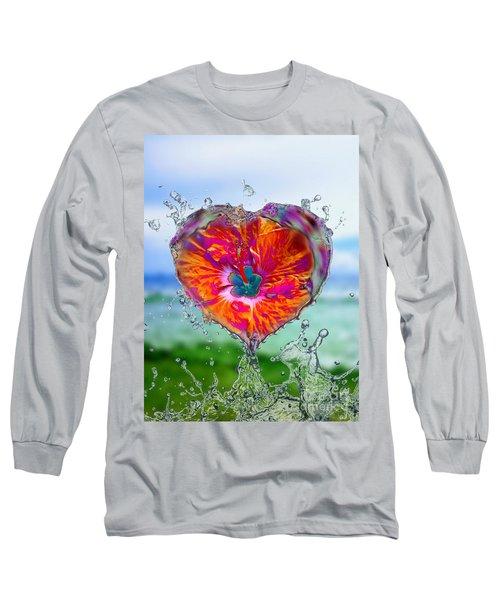 Love Makes A Splash Long Sleeve T-Shirt