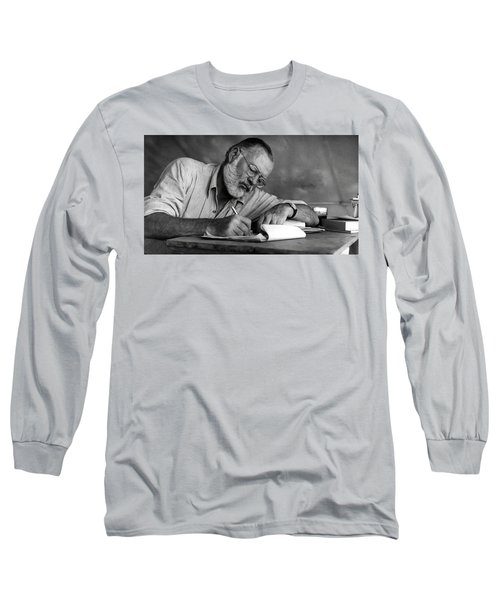 Love Of Writing - Ernest Hemingway Long Sleeve T-Shirt