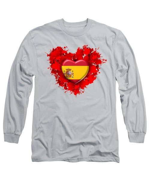 Love Spain 1 Long Sleeve T-Shirt by Alberto RuiZ