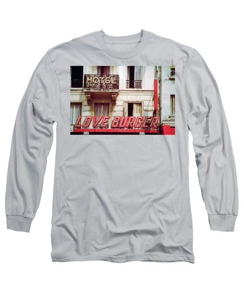 Loveburger Hotel Long Sleeve T-Shirt