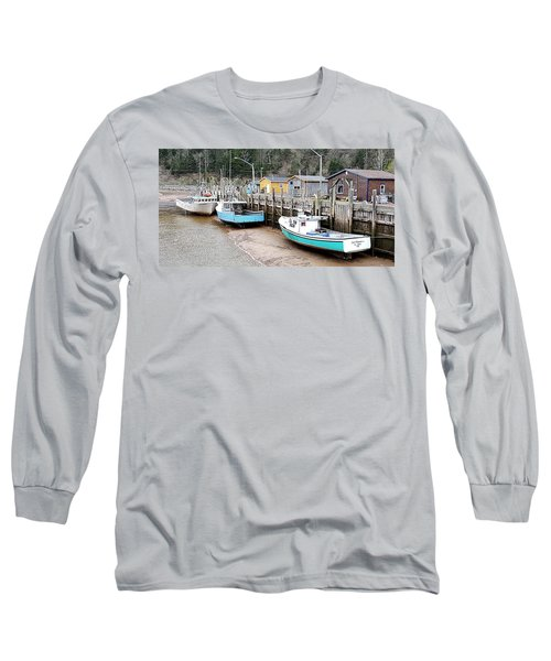 Low Tide In St. Martins Long Sleeve T-Shirt
