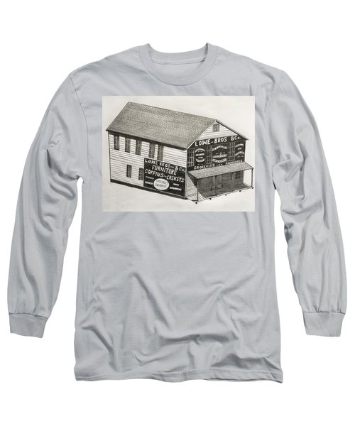 Lowe Brothers Hardware  Long Sleeve T-Shirt by Tony Clark