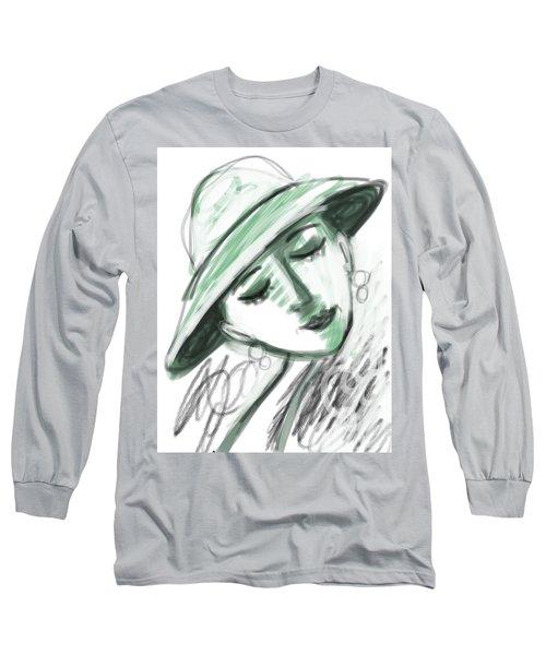 Lydia Long Sleeve T-Shirt by Elaine Lanoue
