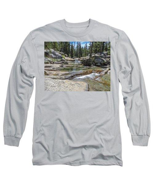 Lyell Fork Tuolomne River Yosemite National Park Long Sleeve T-Shirt