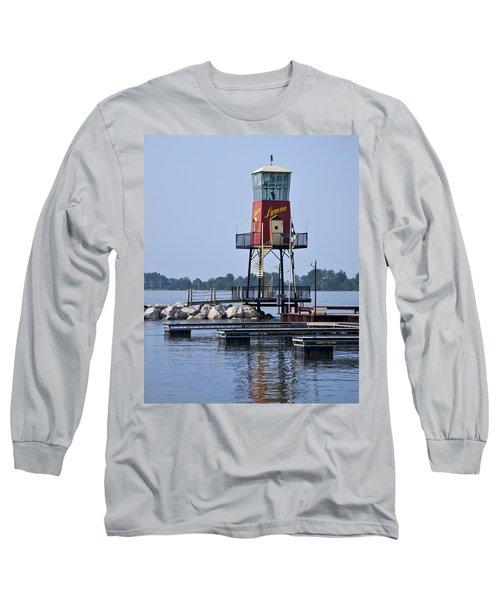 Lyman Harbor Lighthouse Long Sleeve T-Shirt