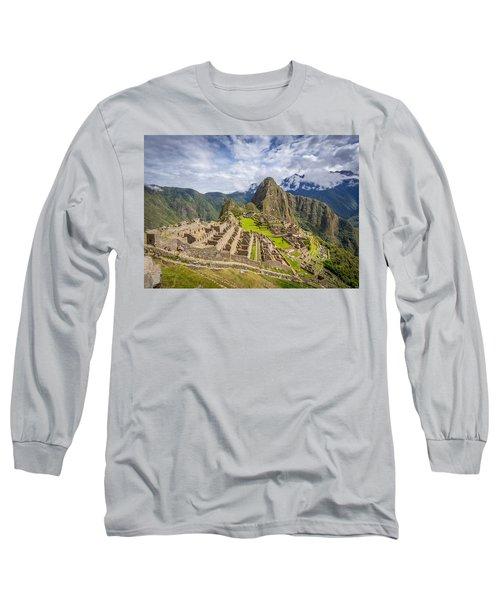 Machu Picchu Peru Long Sleeve T-Shirt