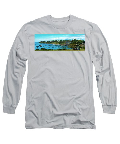 Mackerel Cove On Bailey Island Long Sleeve T-Shirt