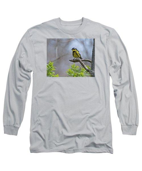 Maggie... Long Sleeve T-Shirt by Nina Stavlund