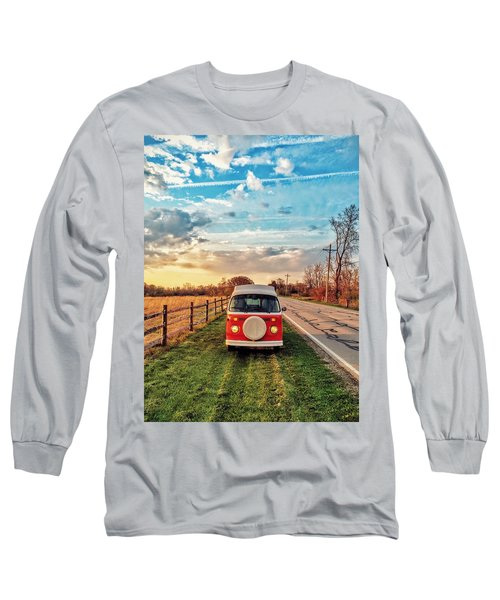 Magic Hour Magic Bus Long Sleeve T-Shirt by Andrew Weills