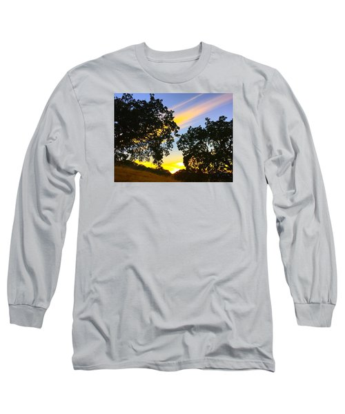 Magic Hour Sunset Long Sleeve T-Shirt