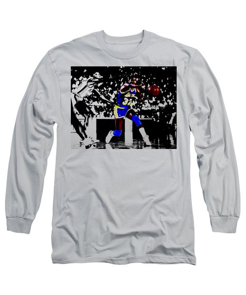 Magic Johnson Bounce Pass Long Sleeve T-Shirt