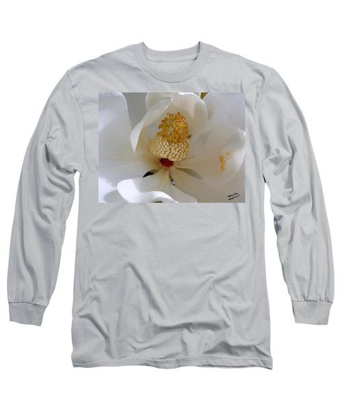 Magnolia Happiness Long Sleeve T-Shirt