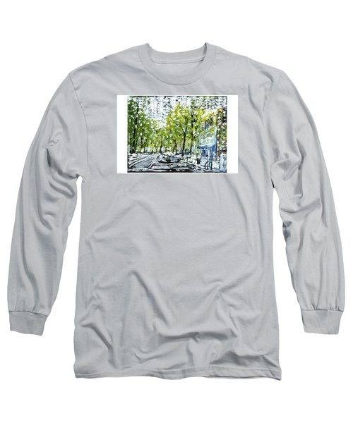 Main Street Snow Long Sleeve T-Shirt