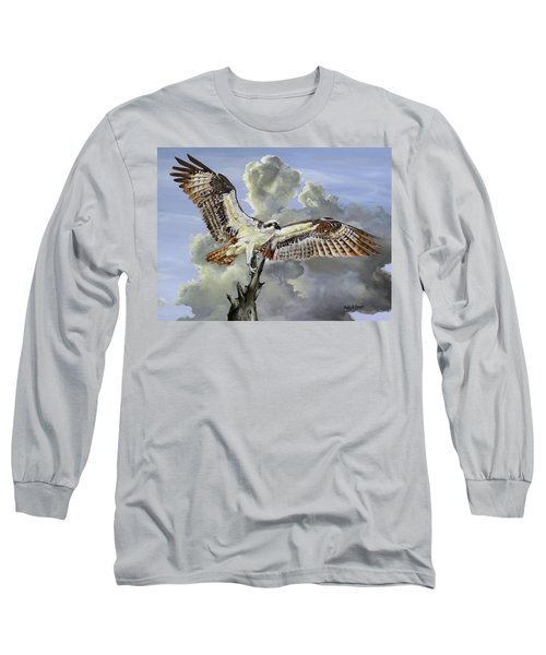 Majestic Sea Hawk Long Sleeve T-Shirt