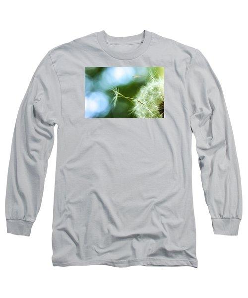 Make A Wish Long Sleeve T-Shirt by Jean Haynes