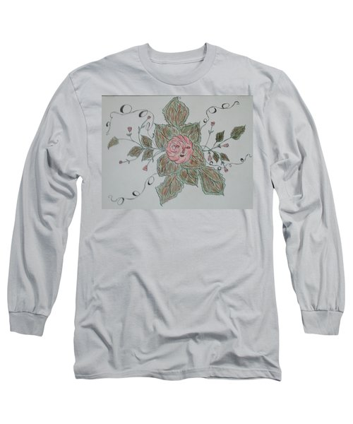 Mama Rose And Her Babies Long Sleeve T-Shirt by Sharyn Winters