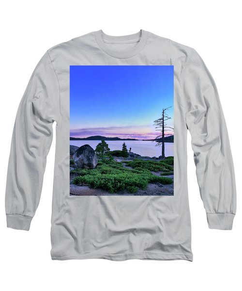 Man And Dog Long Sleeve T-Shirt