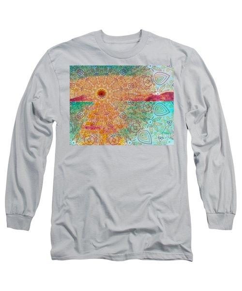 Mandala Sets Over The Dunes Long Sleeve T-Shirt