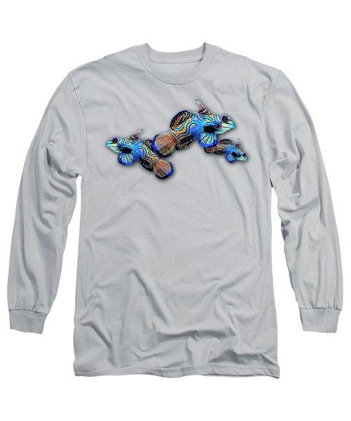 Mandarin Gobies Long Sleeve T-Shirt by Russ Harris