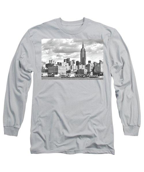 Manhattan Skyline No. 7-2 Long Sleeve T-Shirt