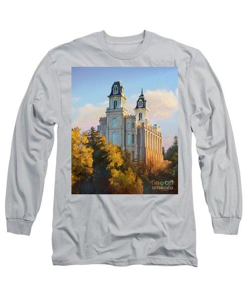 Manti Temple Tall Long Sleeve T-Shirt