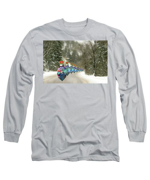 Marching Peace Ornaments Long Sleeve T-Shirt