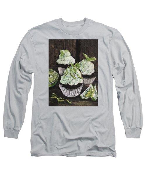 Margarita Cupcakes Long Sleeve T-Shirt