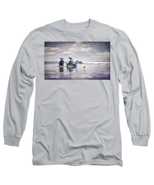 Margate Beach Relaxation Long Sleeve T-Shirt